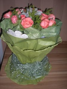 Amazing flowers given to me for Teacher's Day